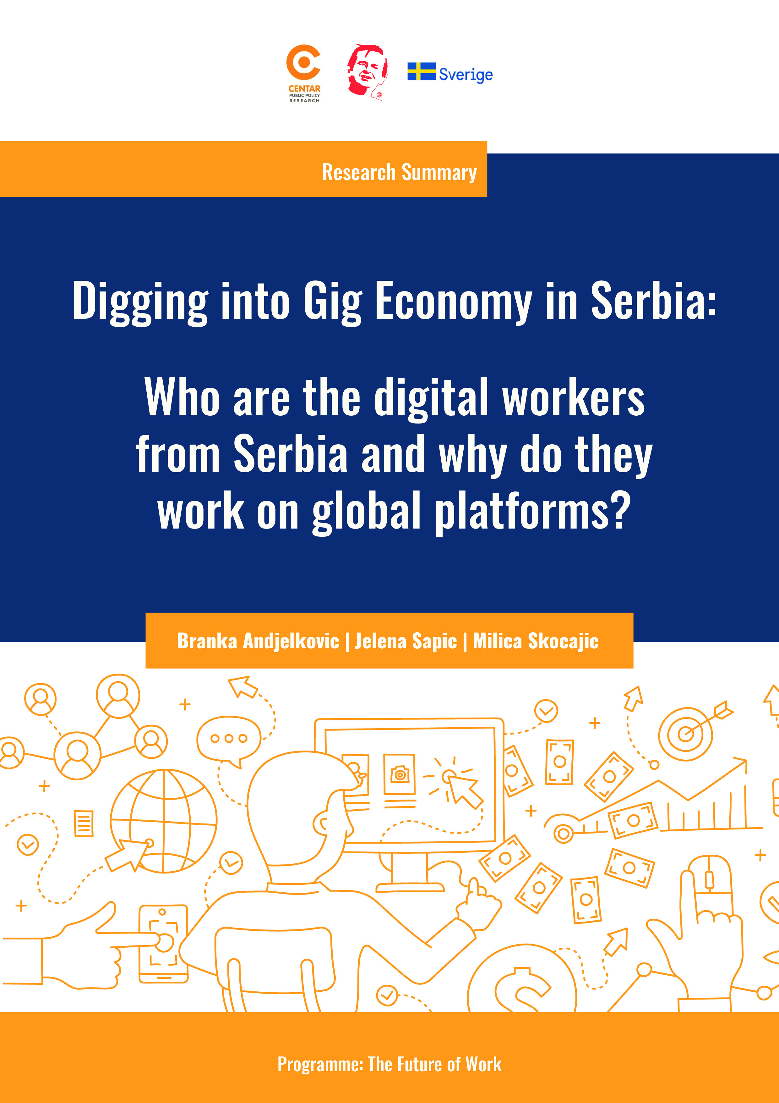 Digging into Digital Work in Serbia